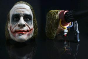 Joker - smoking pipe carved from briar wood