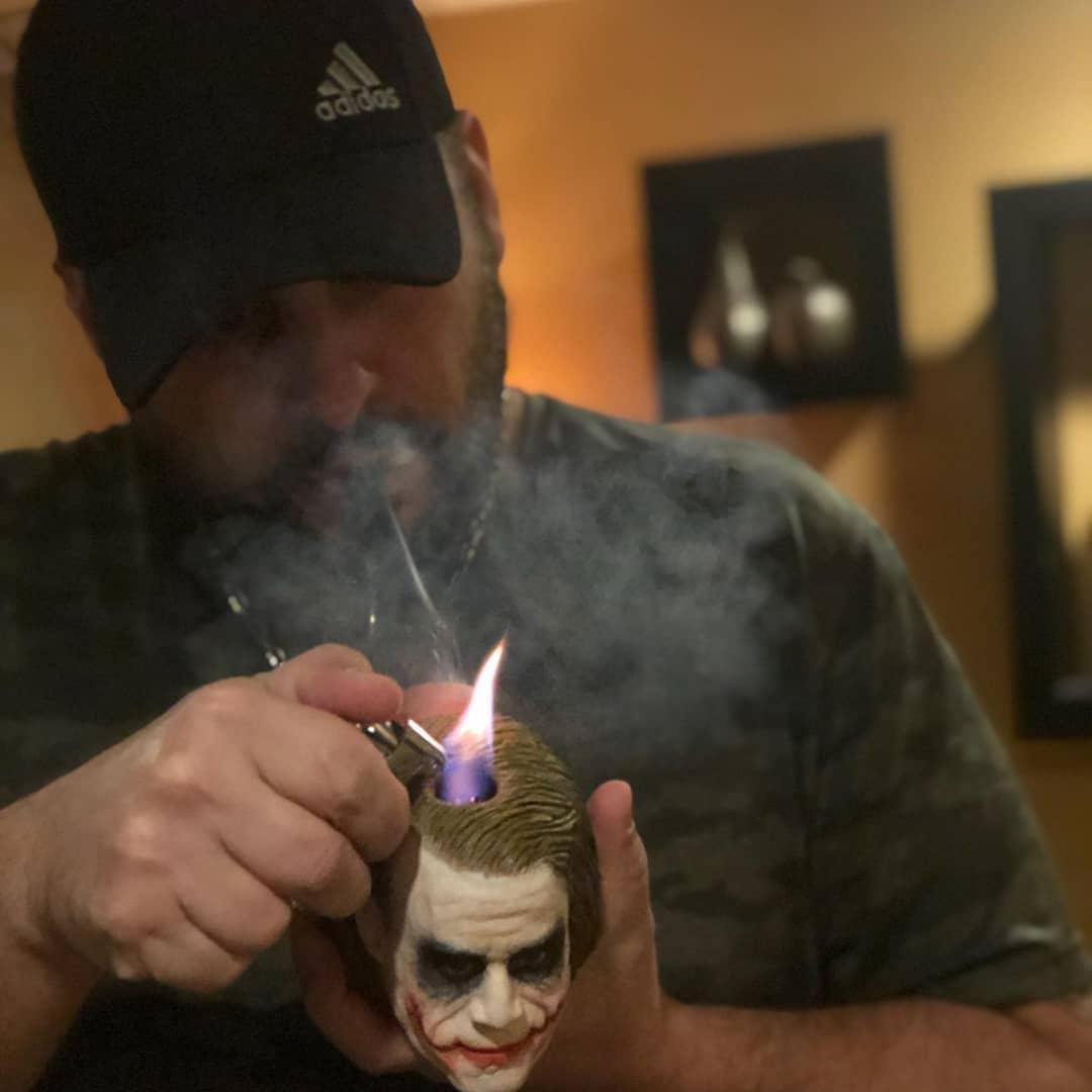 Joker - smoking pipe - custom order