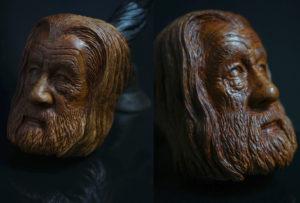 Gandalf - carved briar pipe