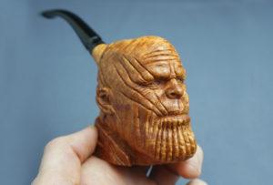 Thanos - Smoking Briar Pipe