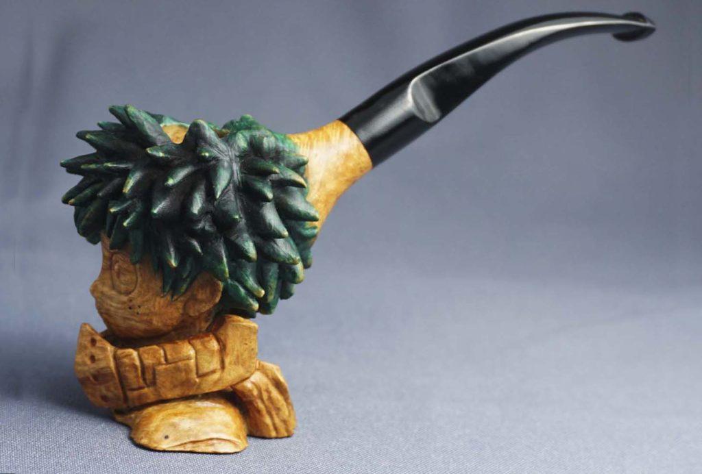 Deku - Smoking Briar Pipe