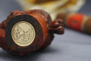 Hellboy - Wood Carved Cigar Holder