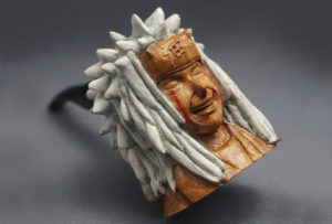 Jiraiya - Smoking Briar Pipe