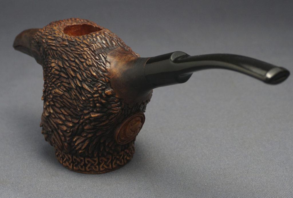 Raven — Smoking Briar Pipe