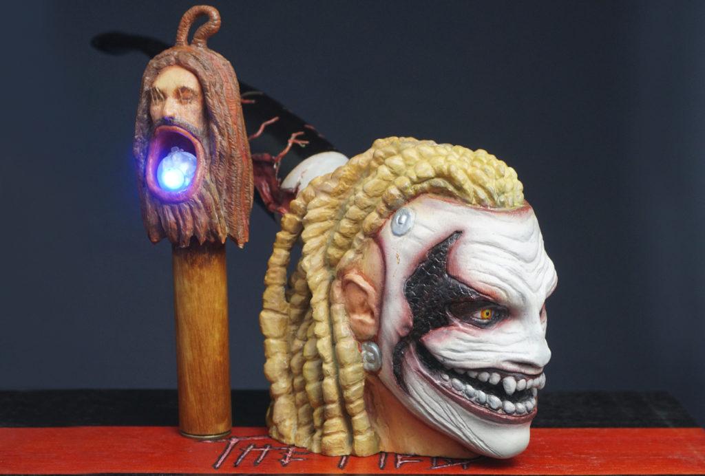 The Fiend Bray Wyatt - carved pipe