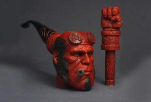 Hellboy - tobacco pipe