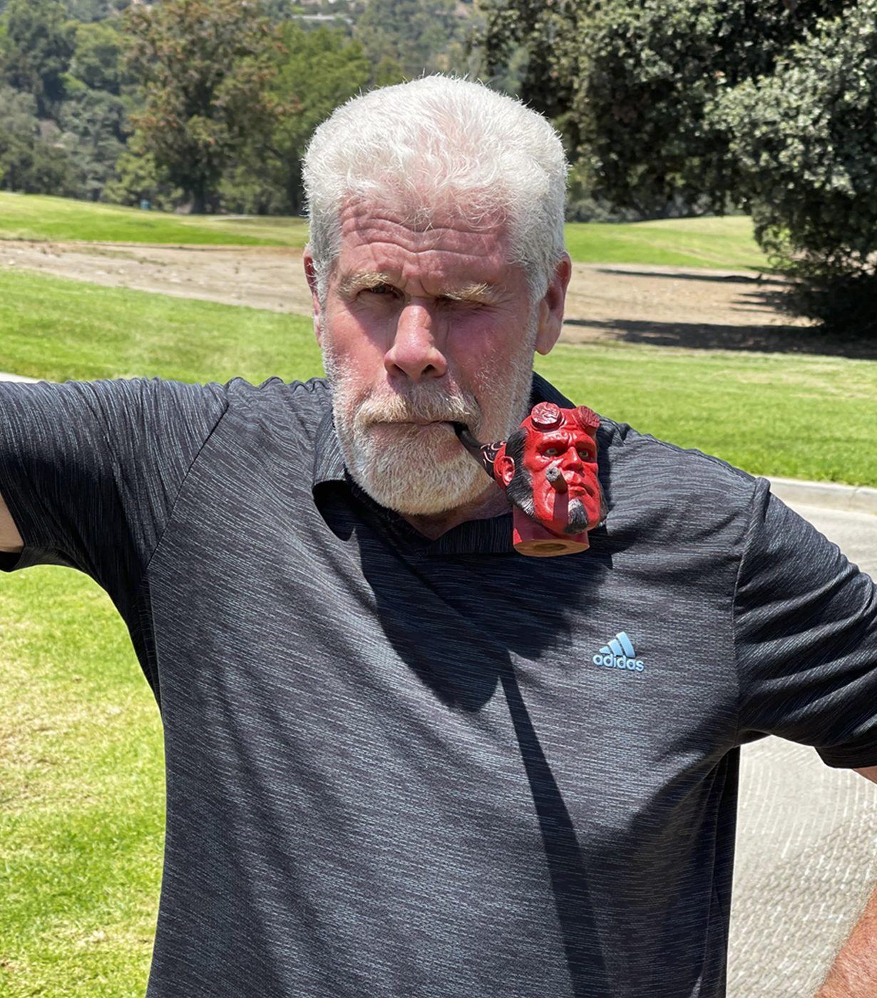 Hellboy pipe for Ron Perlman